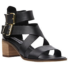 Buy Steve Madden Rosana Strappy Leather Block Heel Sandals Online at johnlewis.com