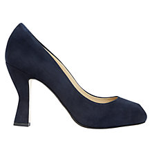 Buy Hobbs Nula Suede Peep Toe Court Shoes Online at johnlewis.com