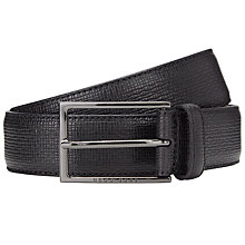Buy BOSS Cabel Leather Belt Online at johnlewis.com