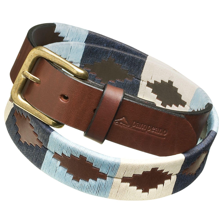 Pampeano pampeano Leather Polo Belt, Sereno