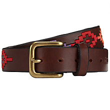 Buy Pampeano Colorido Polo Belt, Multi Online at johnlewis.com