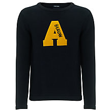 Buy Scotch & Soda Vintage Replica Knit Jumper, Night Online at johnlewis.com