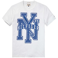 Buy Hilfiger Denim Federer NYC T-Shirt Online at johnlewis.com