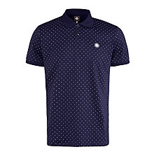 Buy Pretty Green Polka Dot Polo Shirt Online at johnlewis.com