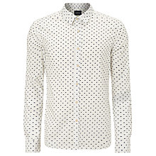 Buy Scotch & Soda Hand Print Shirt Online at johnlewis.com