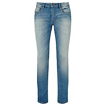 Buy Scotch & Soda Skim Skinny Jeans, Baltic Blue Online at johnlewis.com
