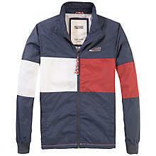 Buy Hilfiger Denim Pierson Jacket, Black Iris Online at johnlewis.com