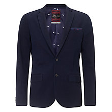 Buy Scotch & Soda Cotton Twill Blazer, Indigo Online at johnlewis.com