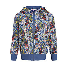 Buy John Lewis Girl Ditsy Print Hooded Sweatshirt Online at johnlewis.com