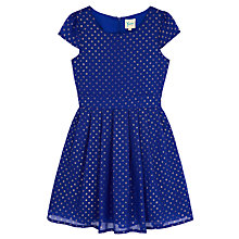 Buy Yumi Girl Foil Spot Dress Online at johnlewis.com