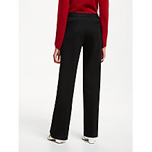 Buy John Lewis Taylor Bootcut Ponte Trousers, Black Online at johnlewis.com