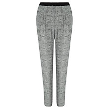 Buy Kin by John Lewis Melange Print Trousers, Grey Online at johnlewis.com