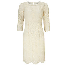 Buy Somerset by Alice Temperley Lace Dress, Ivory Online at johnlewis.com