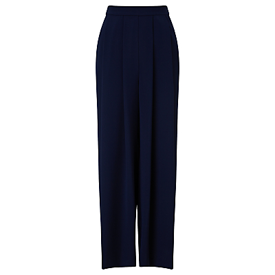 John Lewis Capsule Collection Fluid Maxi Trousers, Navy