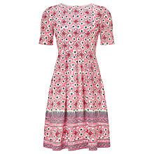 Buy Somerset by Alice Temperley Mexican Border Silk Dress, Pink Online at johnlewis.com
