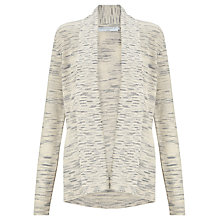 Buy John Lewis Capsule Collection Edge to Edge Cardigan, Pebble Online at johnlewis.com
