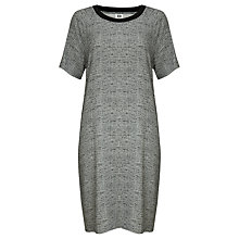 Buy Kin by John Lewis Melange Print Dress, Grey Online at johnlewis.com