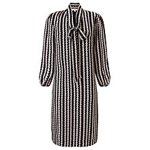 Buy Somerset by Alice Temperley Opel Print Tunic Dress, Black/Cream Online at johnlewis.com