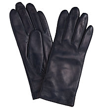Buy John Lewis Cashmere Lined Leather Gloves Online at johnlewis.com