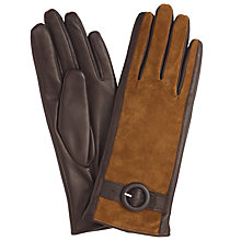 Buy John Lewis Suede Middle Buckle Detail Gloves Online at johnlewis.com