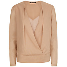 Buy Jaeger Silk Wrap Blouse Online at johnlewis.com