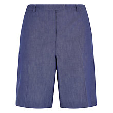 Buy Jaeger Cotton Shorts, Chambray Online at johnlewis.com