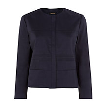 Buy Jaeger Contemporary Jacket, Midnight Online at johnlewis.com