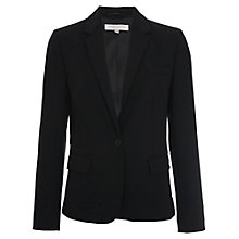 Buy French Connection Whisper Light Classic Jacket, Black Online at johnlewis.com