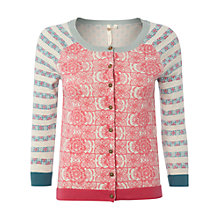 Buy White Stuff Boat Trip Cotton Cardigan, Multi Online at johnlewis.com