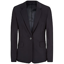 Buy Jaeger Tropical Wool Jacket, Midnight Online at johnlewis.com