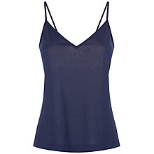 Buy Jaeger Basic Camisole, Midnight Online at johnlewis.com