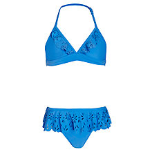 Buy Seafolly Girls' Bright Frill Bikini Online at johnlewis.com