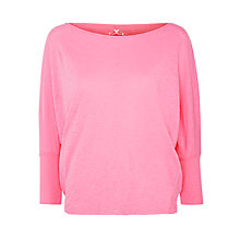 Buy Velvet Joss Cotton Slub T-shirt, Pucker Online at johnlewis.com