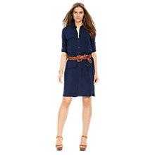 Buy Lauren Ralph Lauren Shirt Dress Online at johnlewis.com