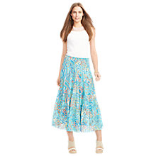 Buy Lauren Ralph Lauren Paisley Tiered Skirt, Multi Online at johnlewis.com