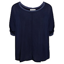 Buy Velvet Rice Challis Contrast Top Online at johnlewis.com