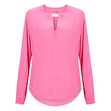 Buy Velvet Rosie Challis Blouse, Pucker Online at johnlewis.com