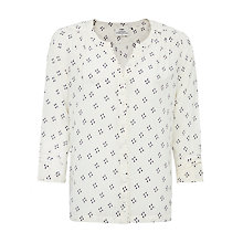 Buy Pyrus Katie Silk Print Blouse, Raindrop Cluster Online at johnlewis.com
