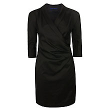Buy Winser Cotton Poplin Dress, Black Online at johnlewis.com