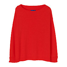 Buy Winser Audrey Cashmere Jumper, Coral Online at johnlewis.com