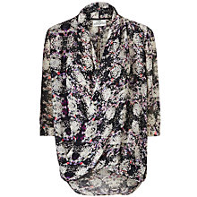 Buy Pyrus Isis Drape Print Top Online at johnlewis.com