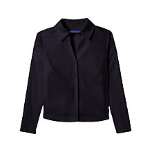 Buy Winser Poplin Popper Shirt, Midnight Online at johnlewis.com