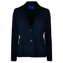 Buy Winser London Knitted Blazer, Midnight/Black Online at johnlewis.com