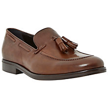 Buy Dune Remus Leather Tassel Loafers Online at johnlewis.com