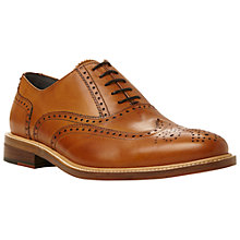 Buy Dune Black Sunbeam Classic Leather Brogues, Tan Online at johnlewis.com