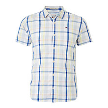 Buy Hilfiger Denim Jetto Check Short Sleeve Shirt Online at johnlewis.com