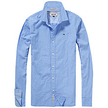 Buy Hilfiger Denim Faxon Stripe Shirt, Faded Denim Online at johnlewis.com