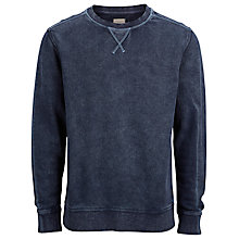 Buy Selected Homme Kidd Crew Neck Sweatshirt Online at johnlewis.com