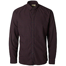 Buy Selected Homme Gingham Check Oxford Shirt Online at johnlewis.com