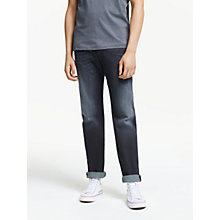 Buy Diesel Waykee 0814W Straight Leg Jeans, Mid Wash Online at johnlewis.com
